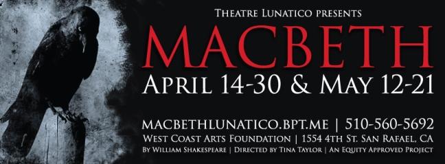Macbeth poster - social media banner